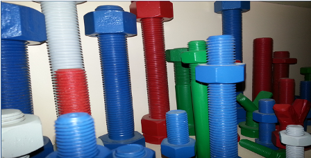 PTFE Coated Fasteners -PTFE Coated Bolts,Nuts,Washer