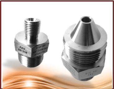 High Pressure Adaptors and Couplings -LP MP HP TYPE M