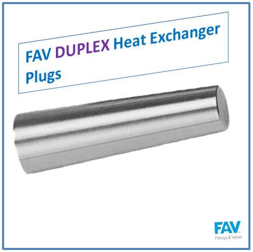 Duplex Heat Exchanger Plugs