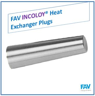 Incoloy Heat Exchanger Plugs
