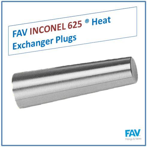 Inconel 625 Heat Exchanger Plugs