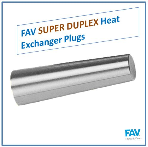 Super Duplex Heat Exchanger Plugs
