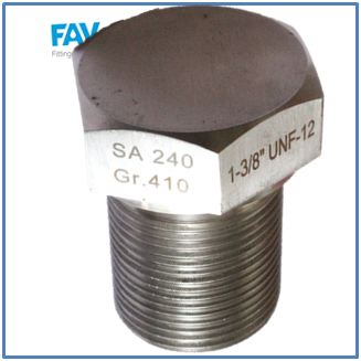Alloy Steel Shoulder Spare Plug