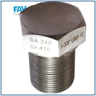 Alloy Steel Shoulder Spare Plug