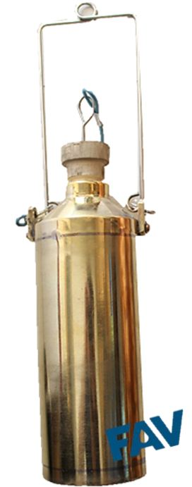 Brass Outer Copper Inner Sampling Bottle