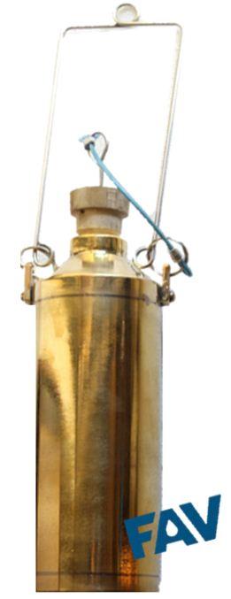 Brass Sampling Cans
