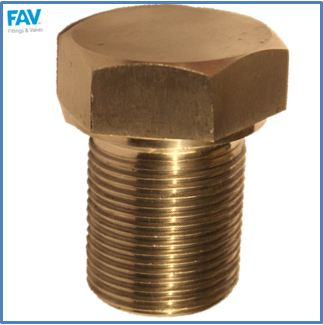 Brass Shoulder Spare Plug
