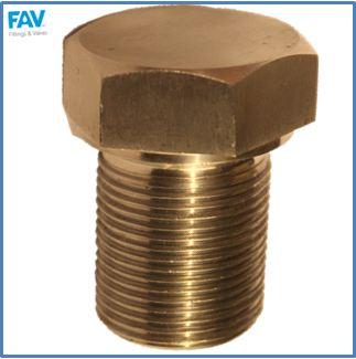 Brass Shoulder Spare Plug