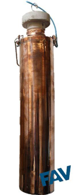 Copper Sampling Can