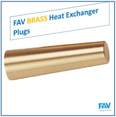 FAV Brass Heat Exchanger Plug