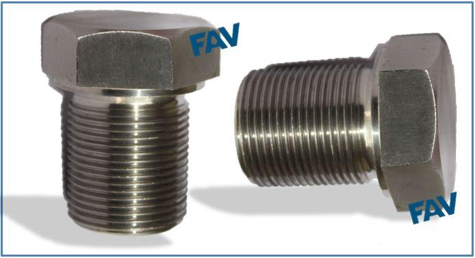 Fav Stainless Steel Shoulder Plugs For Heat Exchanger Fav