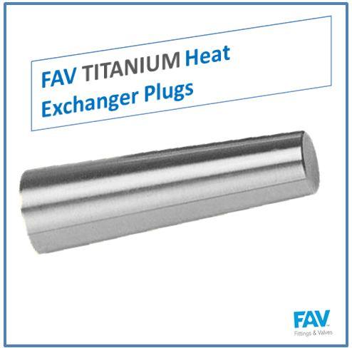 Titanium Heat Exchanger Tuber Plugs