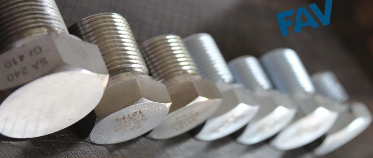 Shoulder Plugs for Heat Exchanger