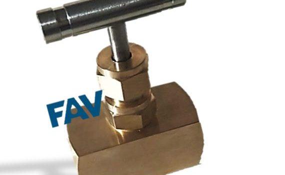 Brass Bar Stock Needle Valve