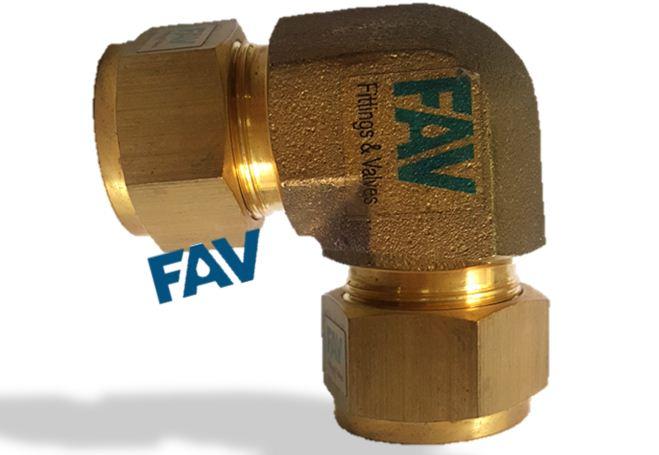 Brass Elbow Union