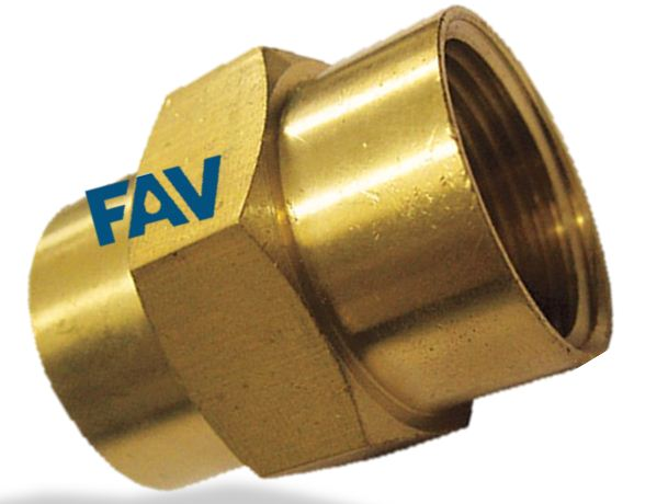 Brass Hex Coupling