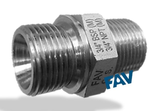 Carbon Steel Hex Nipple NPT BSP