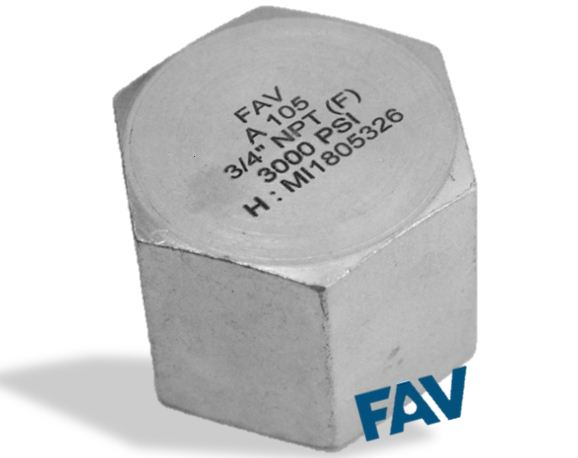 Carbon Steel Cap Female 3000 psi