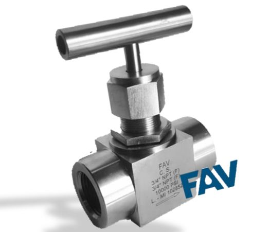 Carbon Steel High Pressure Needle Valves 10000 psi