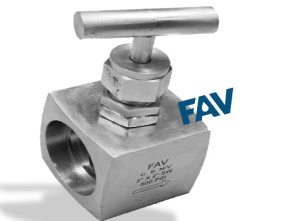 Carbon Steel Needle Valve Socket Weld Connection Barstock Body