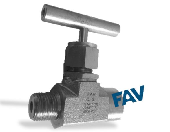 Forged Body Carbon Steel Needle Valve 10000 psi