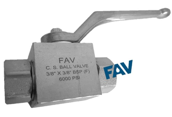 High Pressure Ball Valve BSP NPT Female 6000 psi
