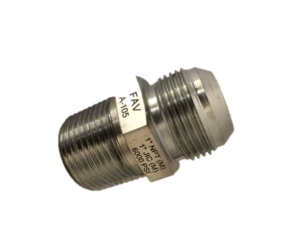 High Pressure Adaptor JIC Male NPT Male ,10000 psi