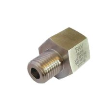 Hex Adapter BSP Female X NPT Male 6000psi