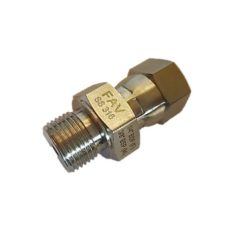 Hex Adapter BSP Male X NPT Male 6000psi