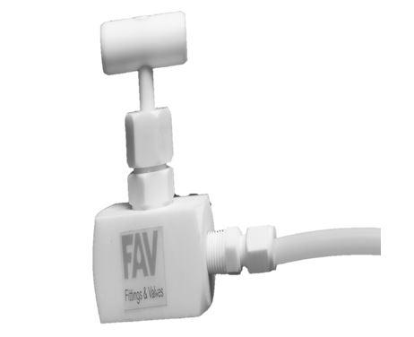 PTFE Needle Valve