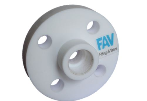 PTFE Threaded Flanges