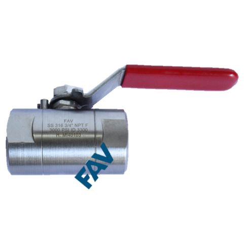 Ball Valve, Female Compression Fitting