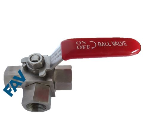 Ball Valve,3 Way ,Front Instrumentation Ball Valve