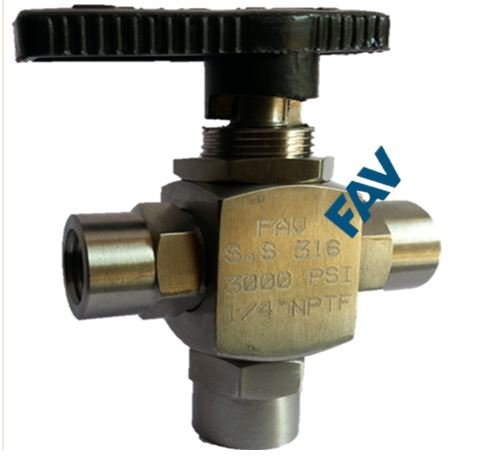 3 Way Ball Valve Instrumentation Ball Valve