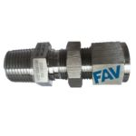 Bulkhead Male Double Ferrule Fitting