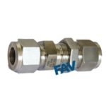 Bulkhead Union Double Ferrule Fitting