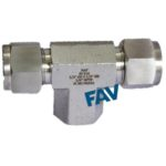 Female Branch Tee Double Compression Fittings