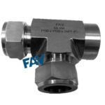 Female Run TEe Double Ferrule Compression Fittings