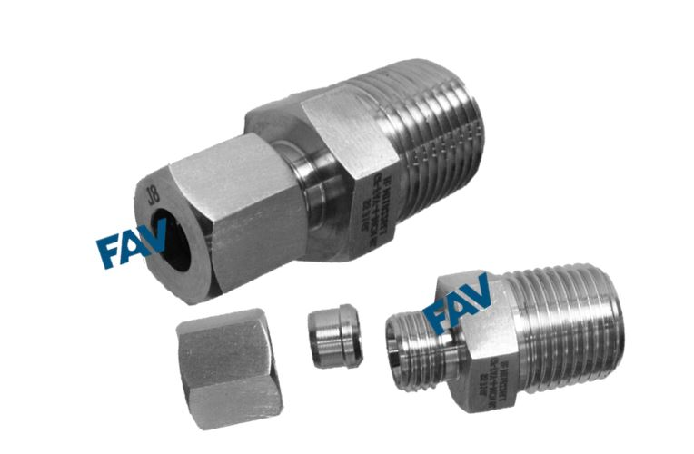Flareless Tube Fittings Hydraulic Fitting