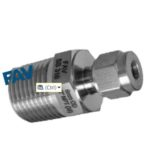 Male Connector BSPT Double Ferrule fitting
