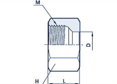 Nut Hydraulic Fitting