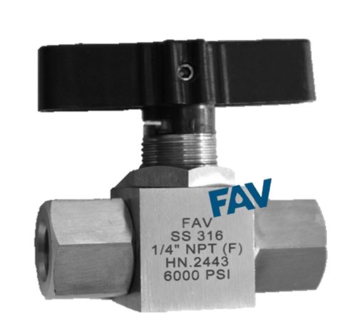 Panel Ball Valve NPT Female Stain Steel Ball Valve