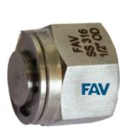 Plug Tube Double Ferrule Fitting